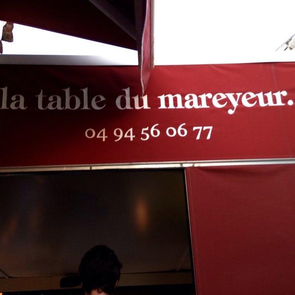 La table du mareyeur 10 11 place des artisans - Restaurant la table du mareyeur port grimaud ...
