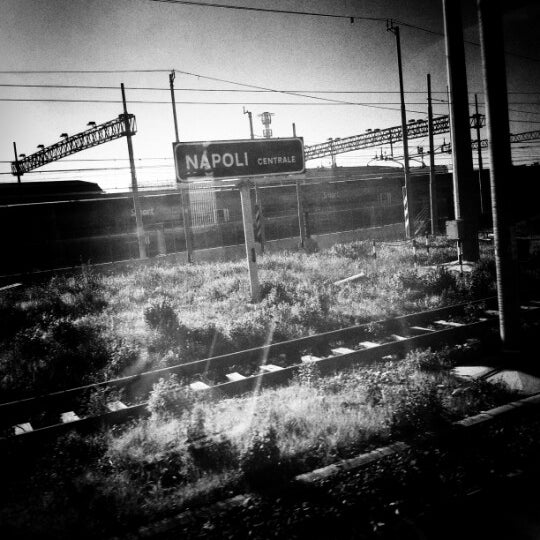 Photo taken at Napoli Centrale Railway Station (INP) by Vito T. on 1/23/2013