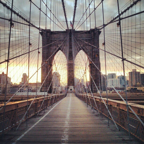 Brooklyn Bridge Bridge In New York