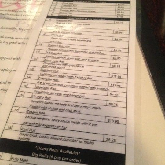 Photo prise au Sushi O Bistro par Ryan le10/27/2012