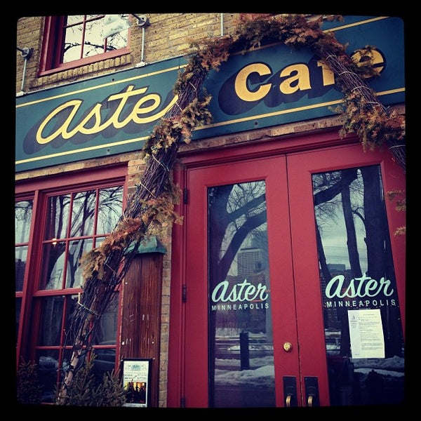 Photo taken at Aster Cafe by Alissa F. on 3/11/2013
