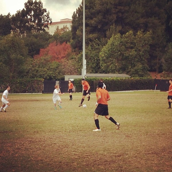 Photo taken at UCLA Intramural Field by Syavash F. on 11/16/2013