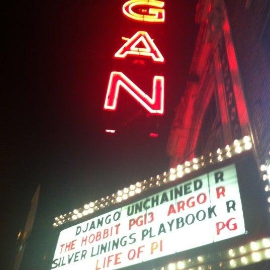 Photo taken at Logan Theatre by Mikaela M. on 2/10/2013