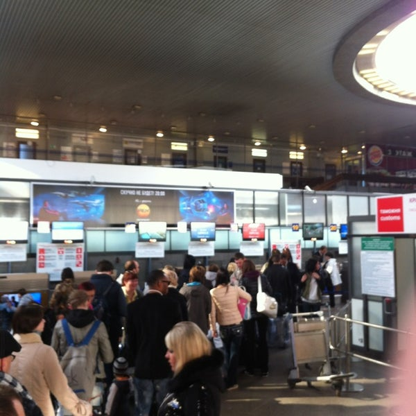 Photo taken at Check-in desk by Evgenyi P. on 4/21/2013