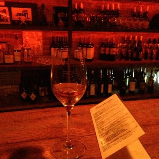 Photo taken at Custom Wine Bar by Christina R. on 12/14/2012