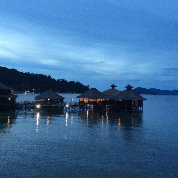 Photo taken at Gayana Eco Resort by Anita C. on 6/10/2014