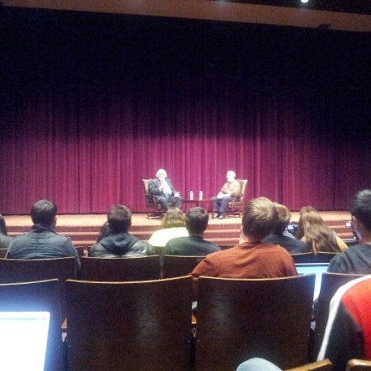 Photo taken at Norris Cinema Theater (NCT) by Leland C. on 11/9/2012