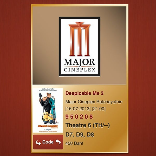 Photo taken at Major Cineplex Ratchayothin by Tae P. on 7/16/2013