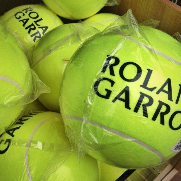 Photo taken at Stade Roland Garros by Ben P. on 5/31/2013