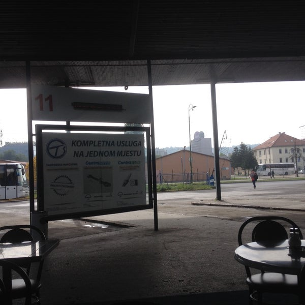 Photo taken at Autobusna stanica by Nahúm C. on 10/6/2015