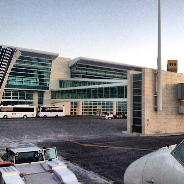 Photo taken at Ankara Esenboğa Airport (ESB) by Burak B. on 7/25/2013
