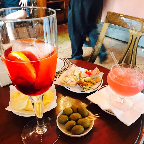 Photo taken at Bar Basso by Lisa E. on 6/10/2017