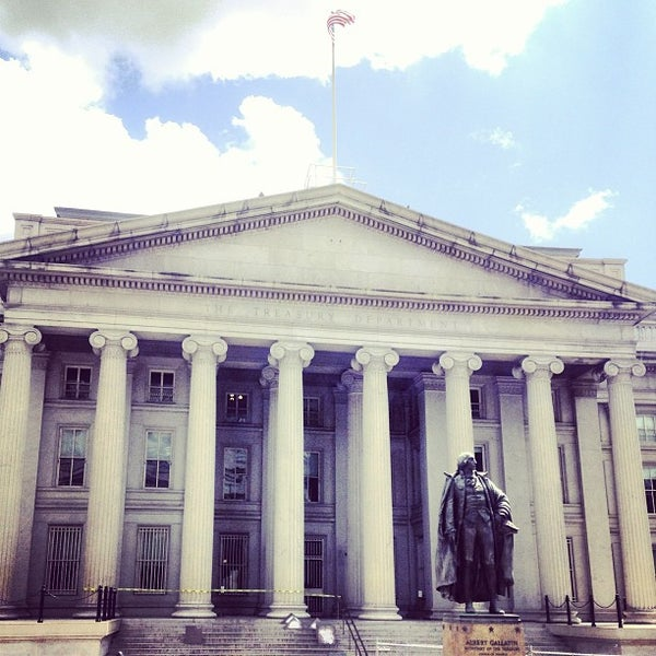 Photo taken at US Department of the Treasury by Carl F. on 7/26/2013