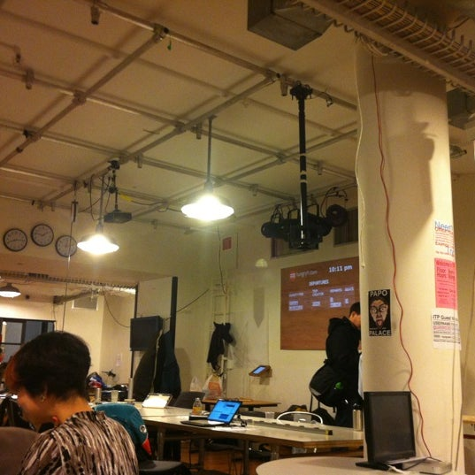 Photo taken at NYU ITP by Ly E. on 12/14/2012