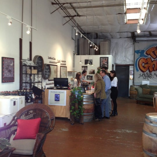 Photo taken at Flying Goat Cellars Tasting Room by Chris L. on 11/23/2012
