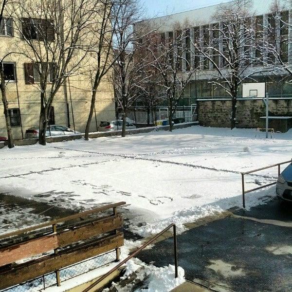 Photo taken at Budai Középiskola by Balazs K. on 2/11/2013