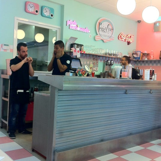 Photo taken at Peggy Sue's by Dani F. on 11/25/2012