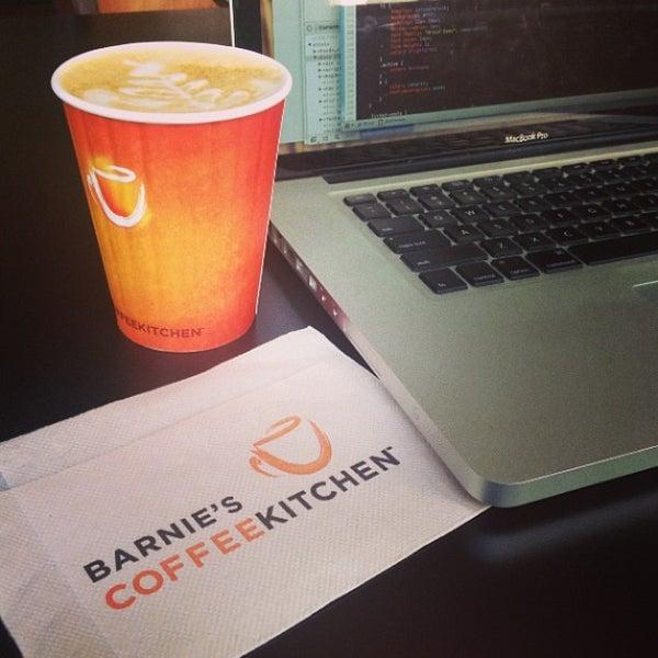 Photo taken at Barnie's Coffee & Tea Company by Lin J. on 7/11/2013