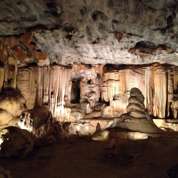 Photo taken at Cango caves by Dirk T. on 3/21/2014