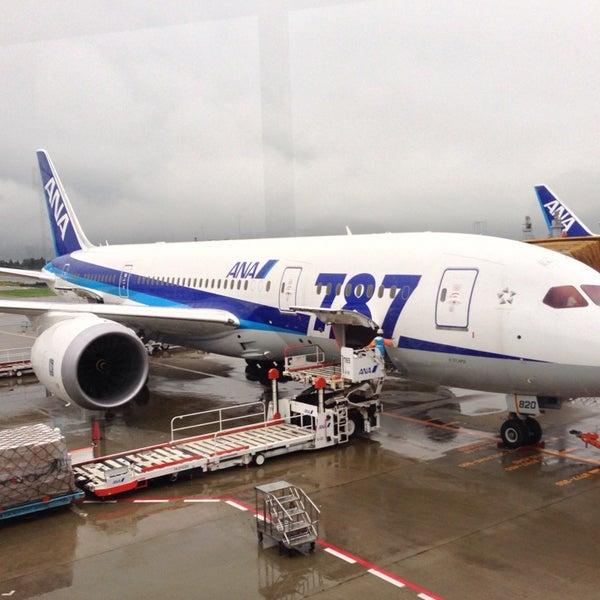 Photo taken at Narita International Airport (NRT) by nozo on 9/25/2013