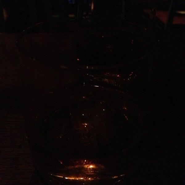 Photo taken at Custom Wine Bar by Billie P. on 2/4/2013