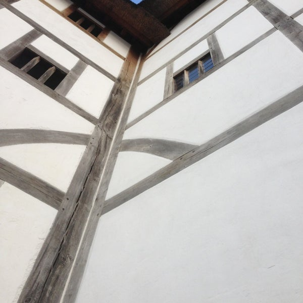 Photo taken at Shakespeare's Globe Theatre by Laura J. on 6/1/2013
