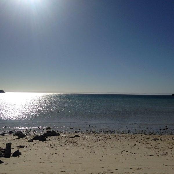 Photo taken at Playa Pichilingue by Oyuki S. on 2/9/2016