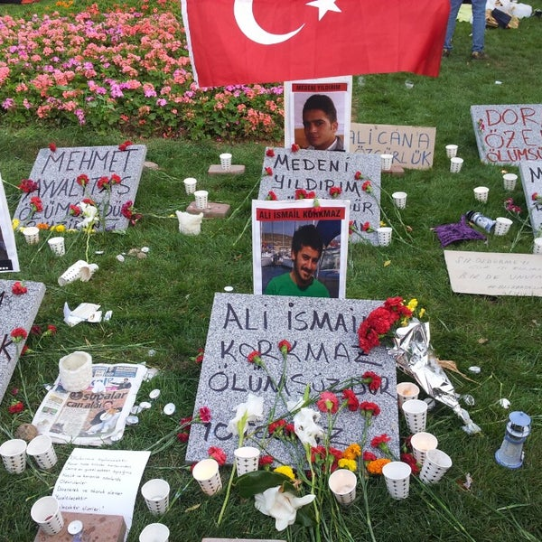 7/11/2013にYasin K.がTaksim Gezi Parkıで撮った写真