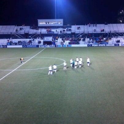 Photo taken at Jeffrey Field by Russ B. on 11/24/2012