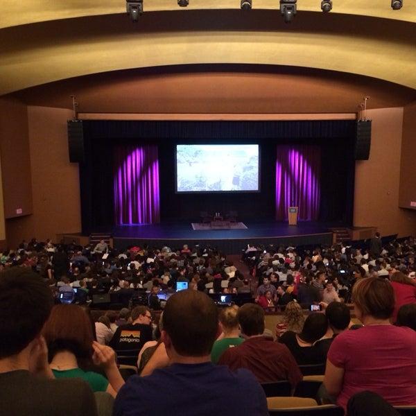 Photo taken at Lisner Auditorium by Alexa R. on 9/29/2013