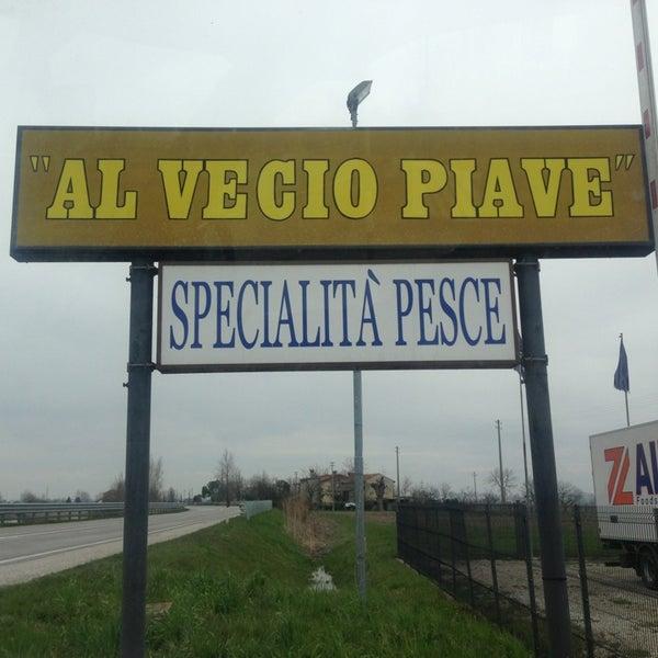 Foto scattata a Al Vecio Piave da Simone T. il 3/29/2013