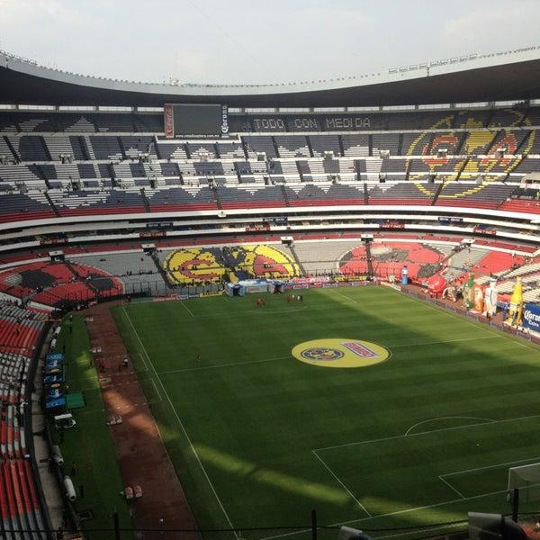 Estadio azteca coyoac n distrito federal for Puerta 1 estadio azteca