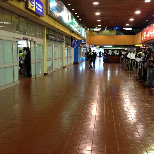 Photo taken at Jomo Kenyatta International Airport (NBO) by Charles S. on 10/19/2012