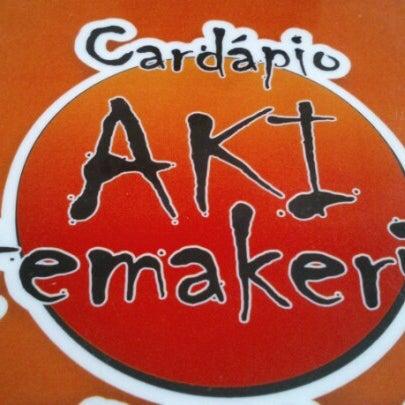 Foto tirada no(a) Aki Temakeria por Gustavo M. em 2/5/2013