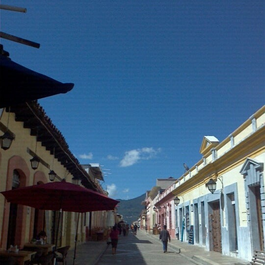 Photo taken at Andador Real de Guadalupe by San Cristobal E. on 11/11/2012