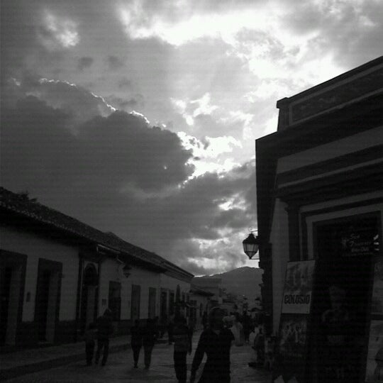 Photo taken at Andador Real de Guadalupe by San Cristobal E. on 10/18/2012