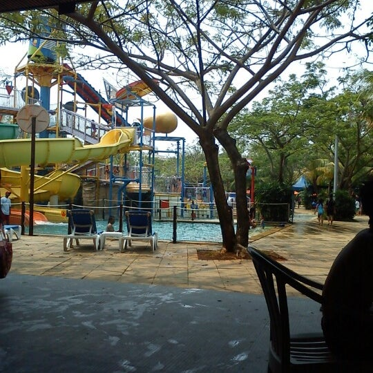Photo taken at Waterbom Jakarta by chandra a. on 9/20/2012