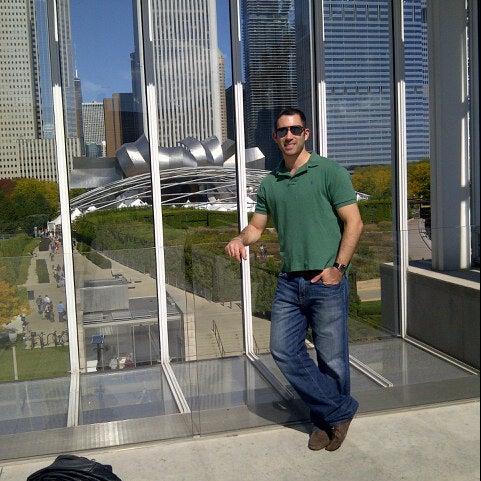 Photo taken at Sculpture Garden - Art Institute of Chicago by Josh M. on 9/30/2012