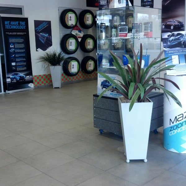 Photo Taken At Hodges Mazda At The Avenues By Kita R. On 2/21