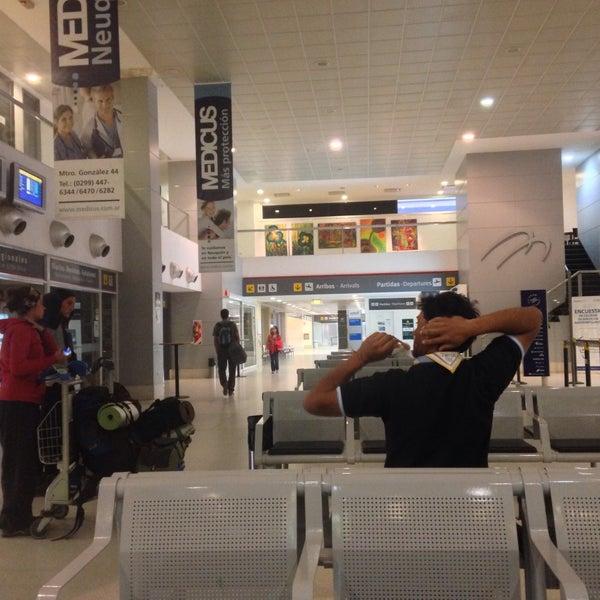 Foto tomada en Aeropuerto Internacional del Neuquén - Presidente Juan D. Perón (NQN) por Ariel A. el 1/25/2015