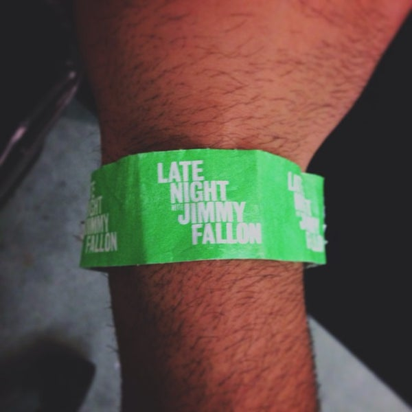 Photo taken at Late Night with Jimmy Fallon by Manny H. on 10/2/2013