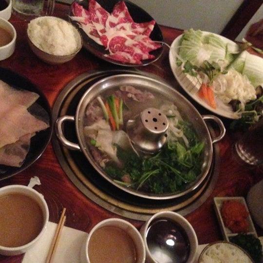 Photo taken at Shabu-Tatsu by Ellen C on 10/15/2012