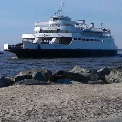 Photo taken at Cape May-Lewes Ferry | Cape May Terminal by Nettie F. on 1/8/2012