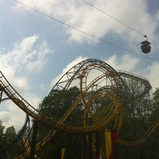 Photo taken at Busch Gardens Williamsburg by Tasha on 4/24/2011