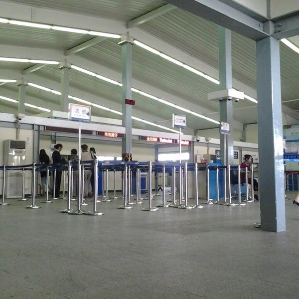 Photo taken at Taipa Ferry Terminal by Thin D. on 9/13/2013