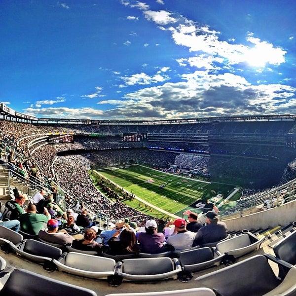 Photo taken at MetLife Stadium by Stephen T. on 9/22/2013
