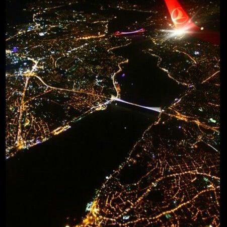 Photo taken at Fatih Sultan Mehmet Bridge by Büşra S. on 8/7/2013