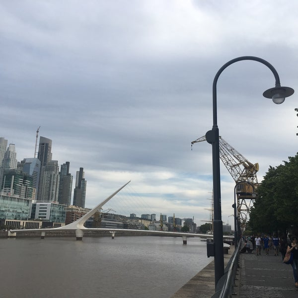 Photo taken at Puerto Madero by Ximena M. on 12/1/2017