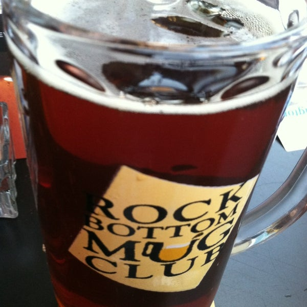 Photo taken at Rock Bottom Restaurant & Brewery by John S. on 4/4/2013