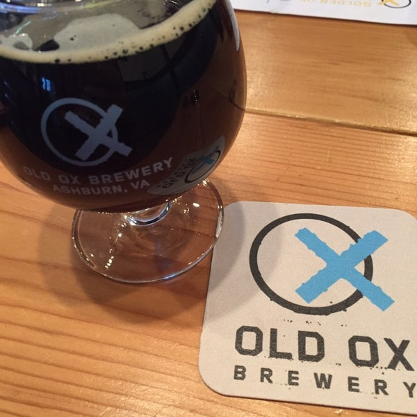 Photo taken at Old Ox Brewery by Kallen C. on 10/24/2014
